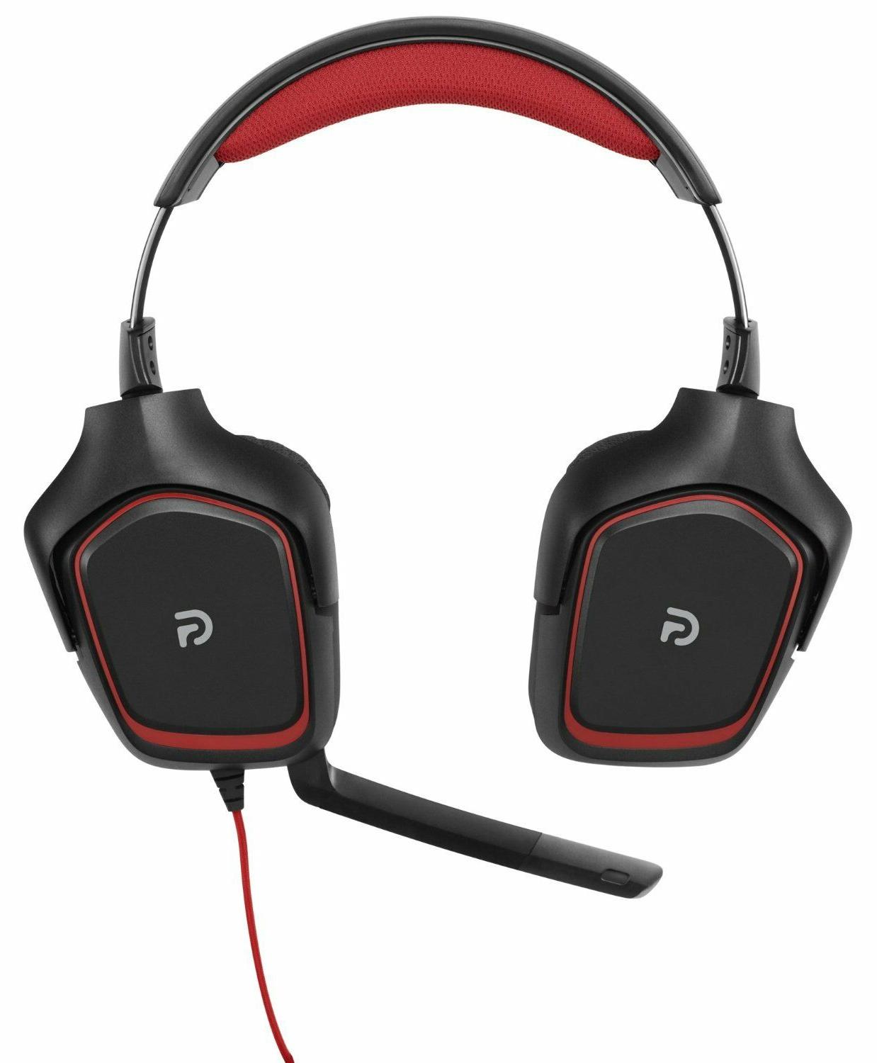 N Logitech Gaming Noise-cancelling Wired Headset