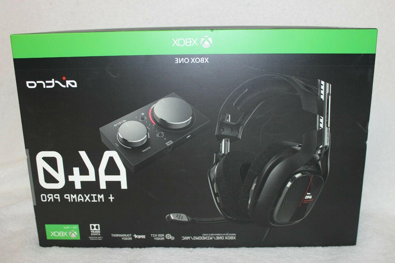 new gaming a40 tr headset mixamp pro
