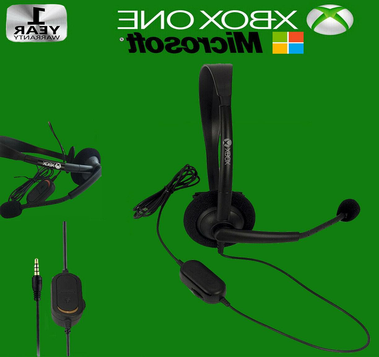 new official xbox one gaming wired headset