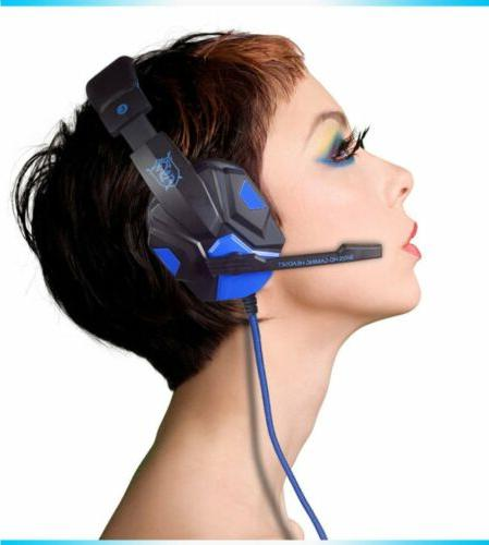 noise canceling gaming headsets surround stereo pc780