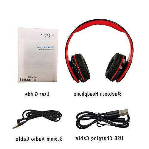 Noise Over Bluetooth Active Bass Wireless Advanced Gaming Earmuff, Built-in Wired Phones/TV