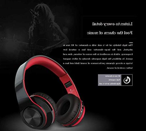 Noise Bluetooth Bass Stereo, Advanced Earmuff, Built-in Wired Phones/TV