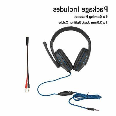 Over-ear Gaming Stereo Headphone For One/Laptop