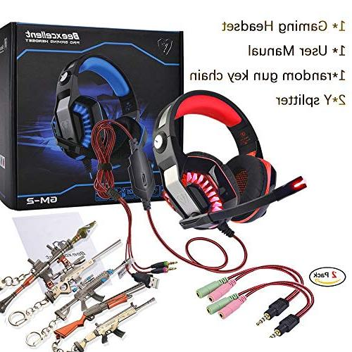 Gaming One,PS4,PC,Laptop,Tablet Mic,Pro over Y Light,Stereo Surround kids,Mac,Smartphones