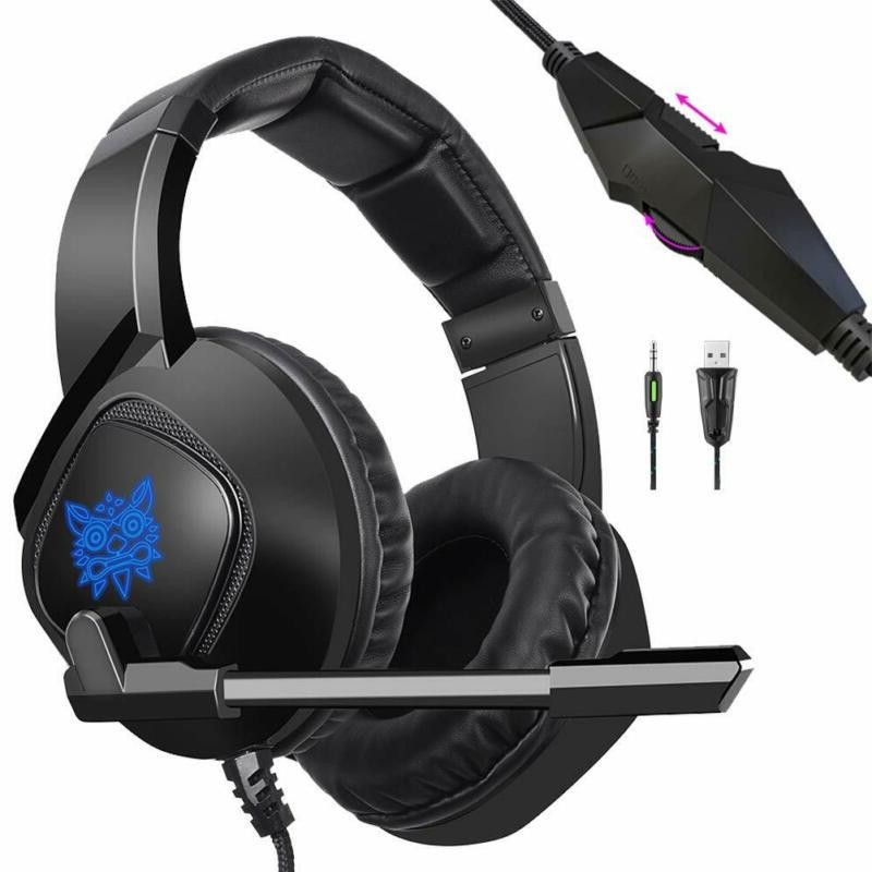 PS4 Headset K19 Stereo Over-Ear PC