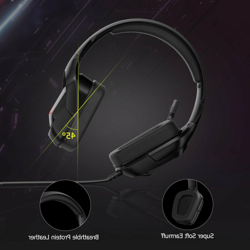 PS4 Gaming Headset K20 with RGB Surround
