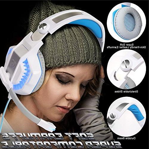 Headset for PS4, One Headphones Mic and Playstation PC