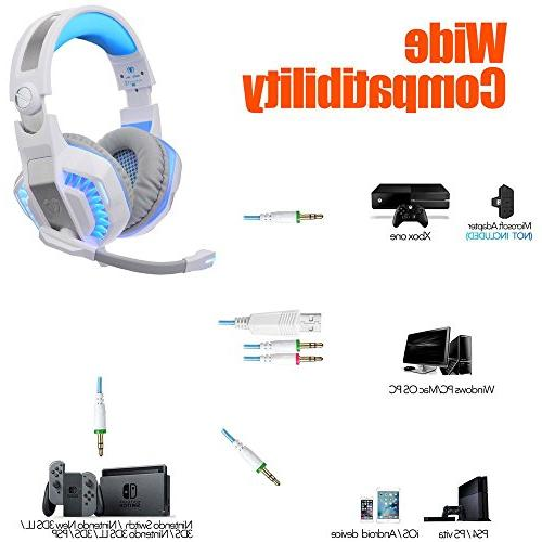 BlueFire Professional Headset One Headphones with and Playstation 4, PC