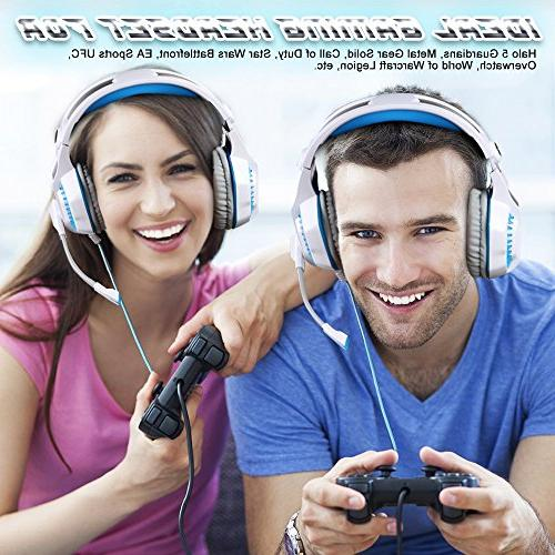 BlueFire Gaming Headset for PS4, Xbox One with and LED Playstation 4, Xbox PC