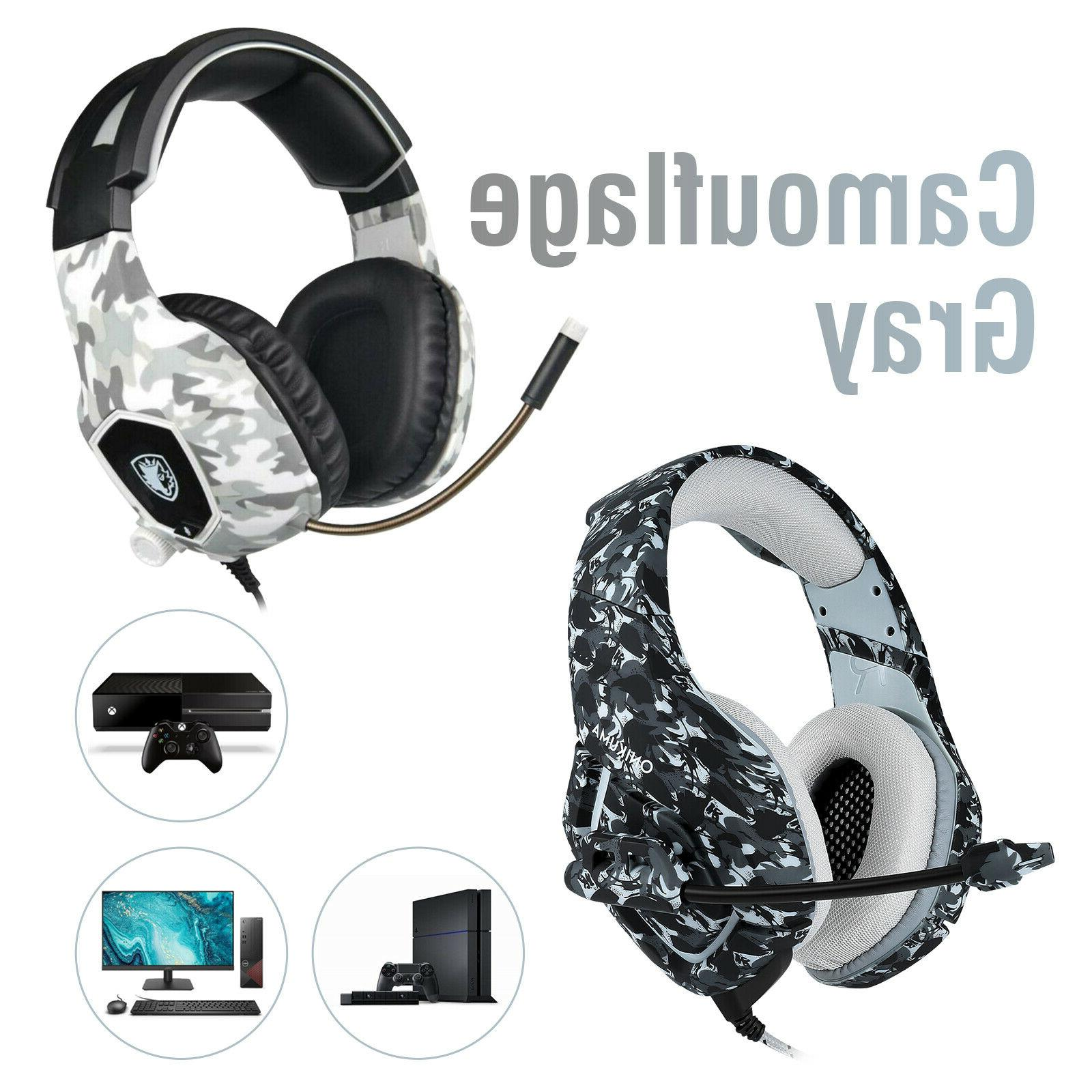 ps4 gaming headset xbox one pc headphone