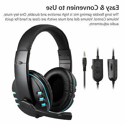 for PS4 Xbox Switch PC Wired Headset