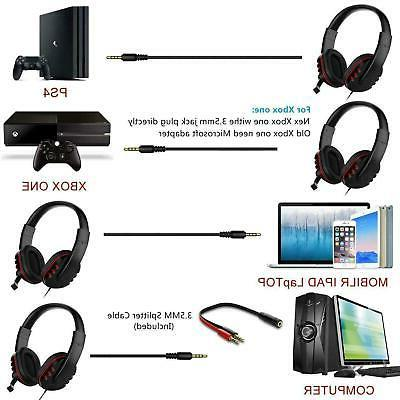 for Nintendo Switch PC Stereo Wired Headset