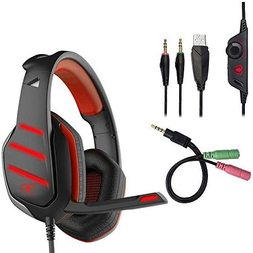 ps4 xbox one gaming headset
