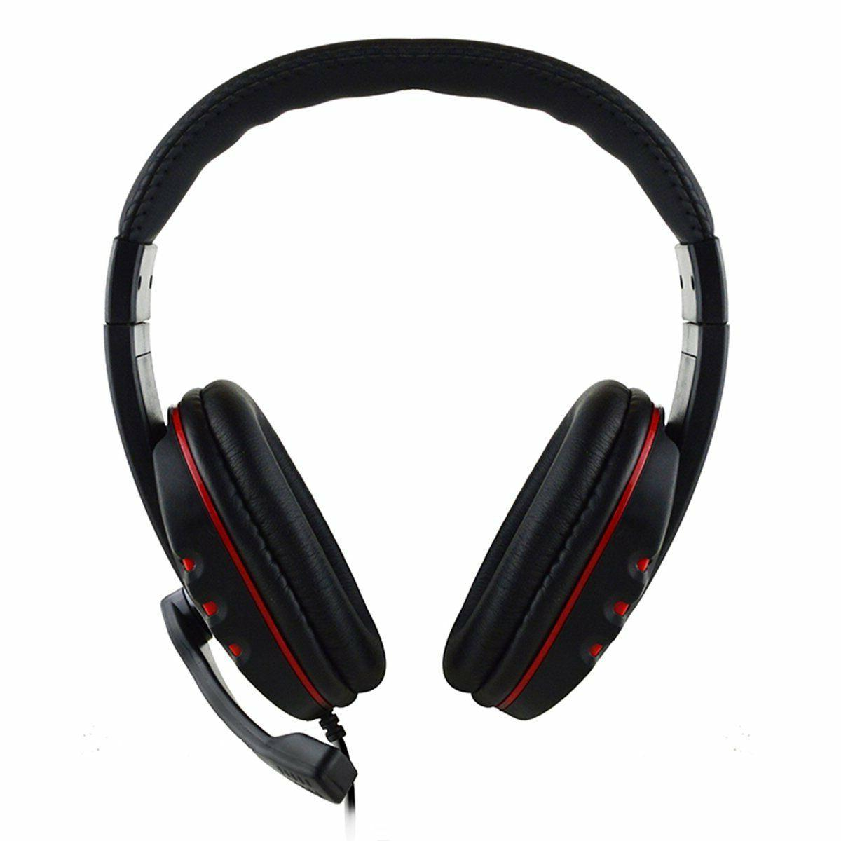 USA Gaming Headset Stereo Surround Headphone w/ Mic For PS4 Xbox