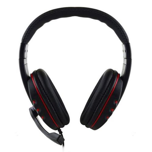 For One PC 3.5mm Gaming Surround Headphone
