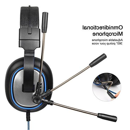 SADES Headset Xbox One, Wired Microphone Control one