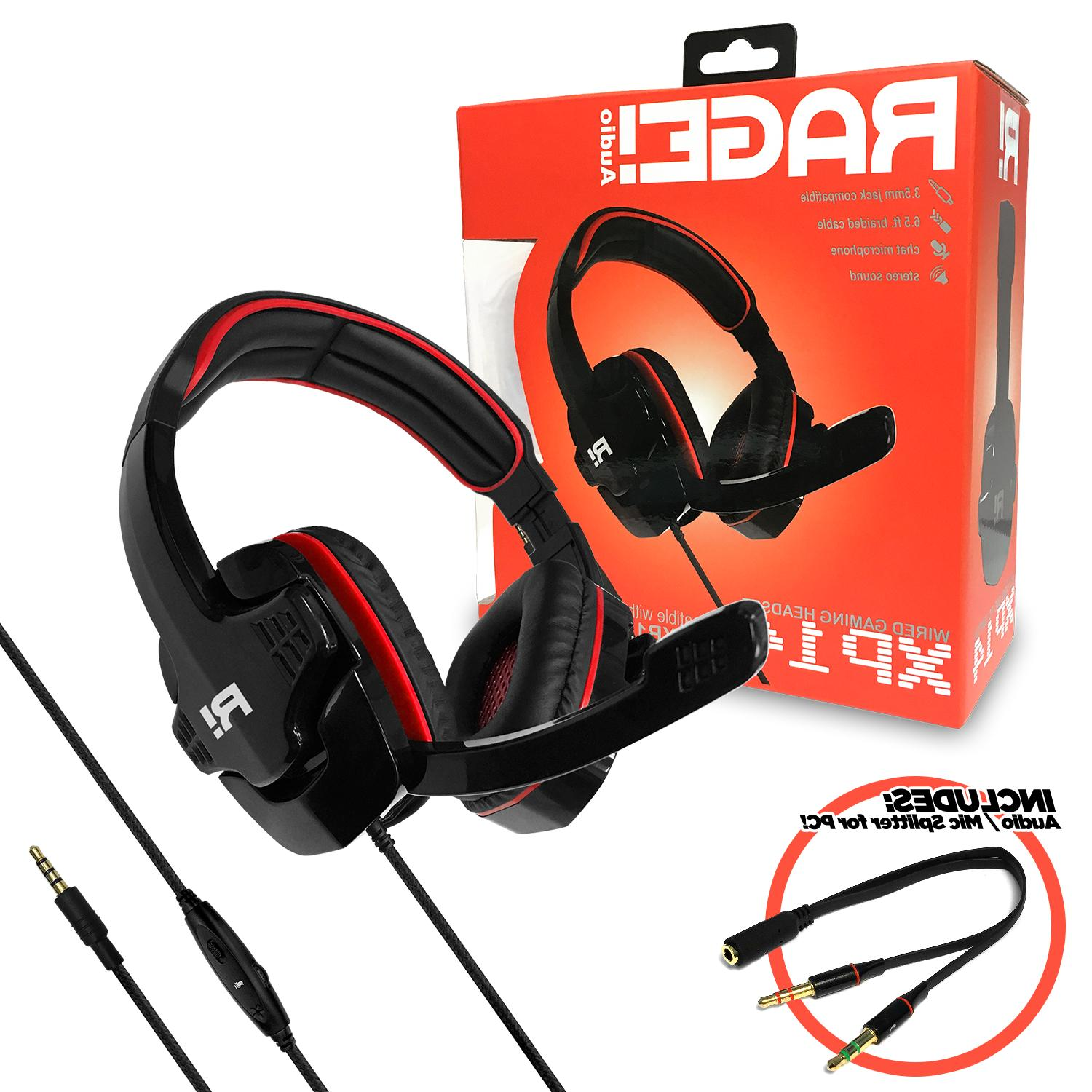 rage xp14 stereo gaming headset xbox one