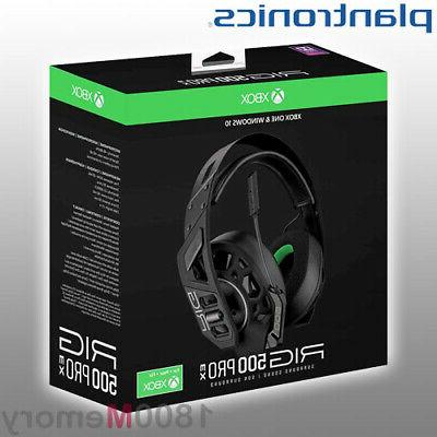 rig 500hx stereo gaming headset over ear