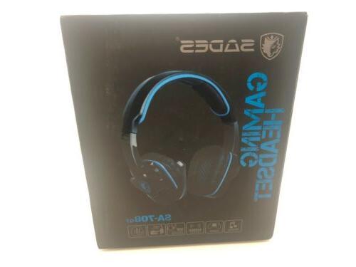sa 708 gt universal gaming wired headset