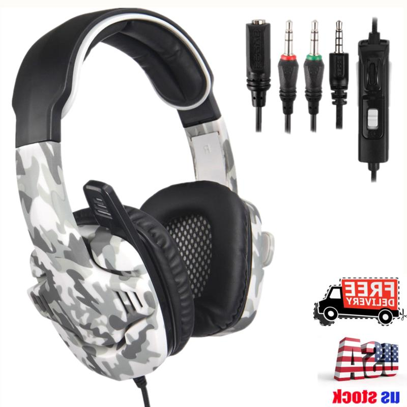Sades SA903 USB 7.1 Surround Sound Stereo Gaming Headset wit