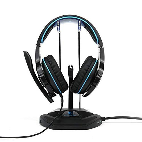 SADES Headset Xbox PC with Noise Soft Ear Cushion Jack for Smartphone Tablet