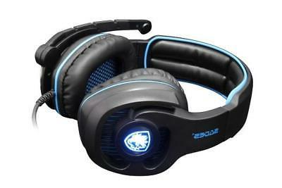SADES channel PC Headset Headphones Noise Cancel Mic NEW