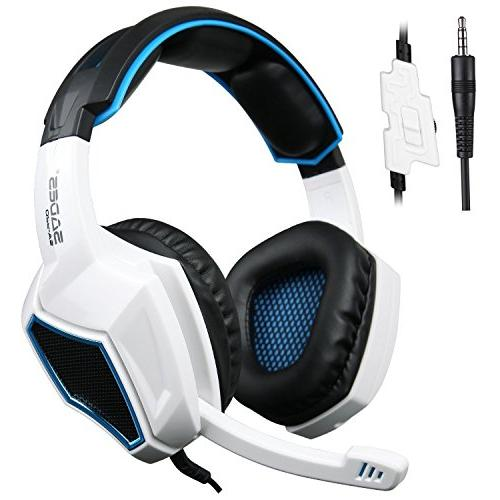 sades sa920 35mm wired stereo gaming over ear headset microp