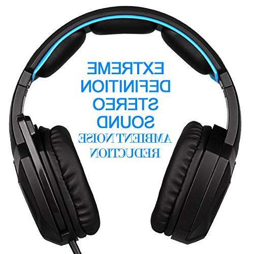 Sades Wired Stereo Headset Ear for / /Cell