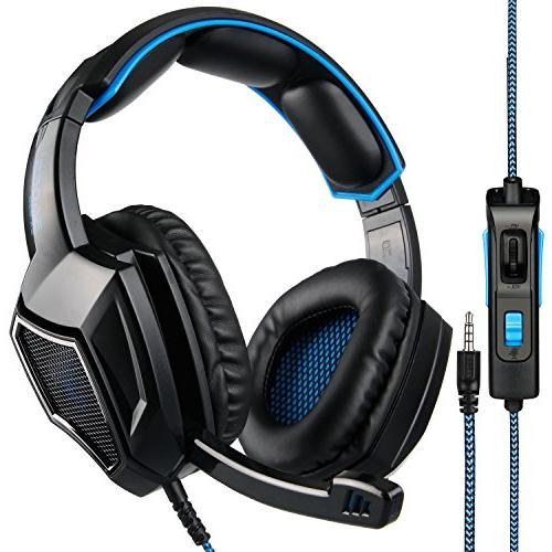 SA920 Stereo Gaming Ear Headphones with for New /Cell phones-