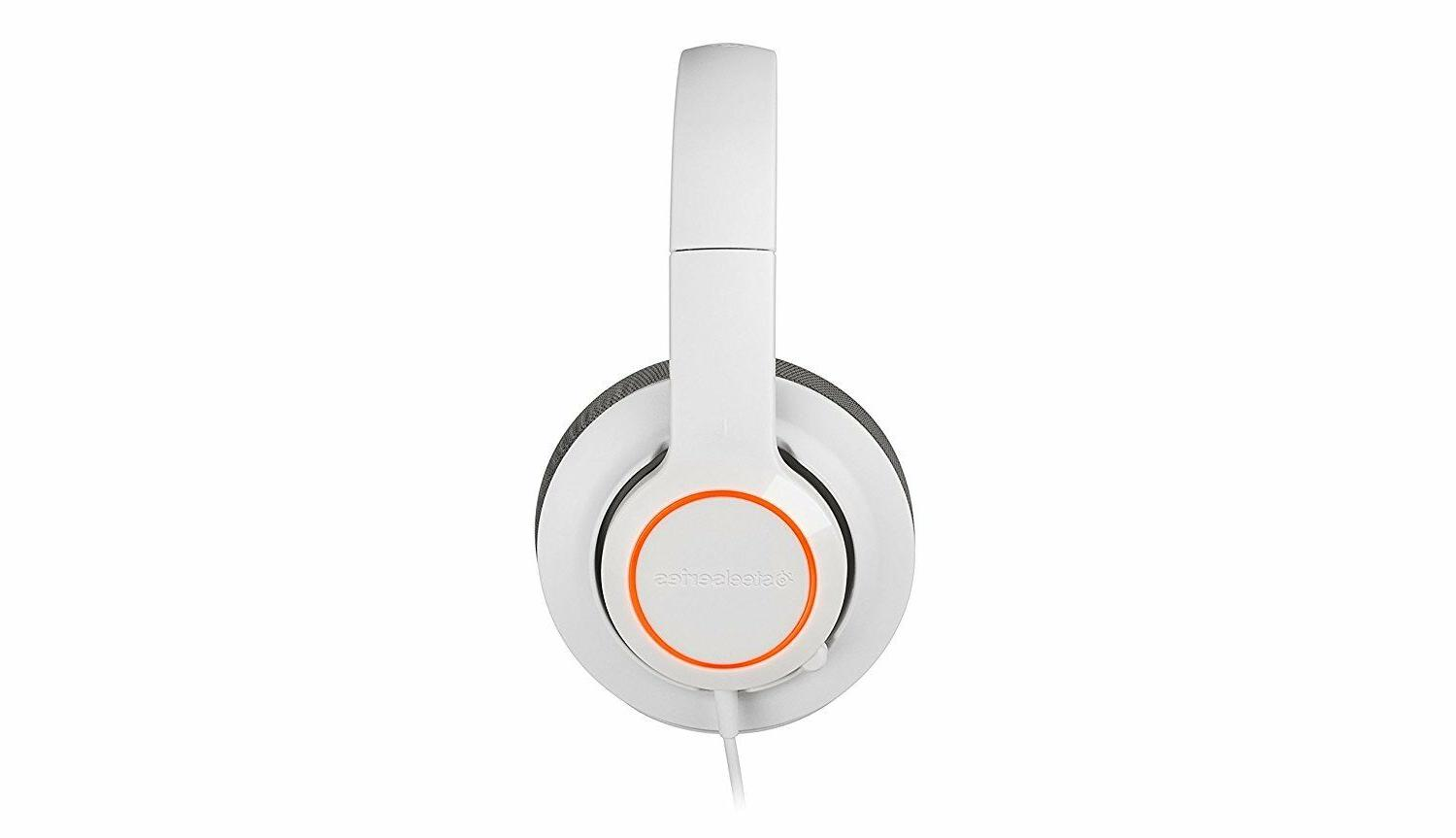 SteelSeries Siberia RAW Prism White Mac PC Headset