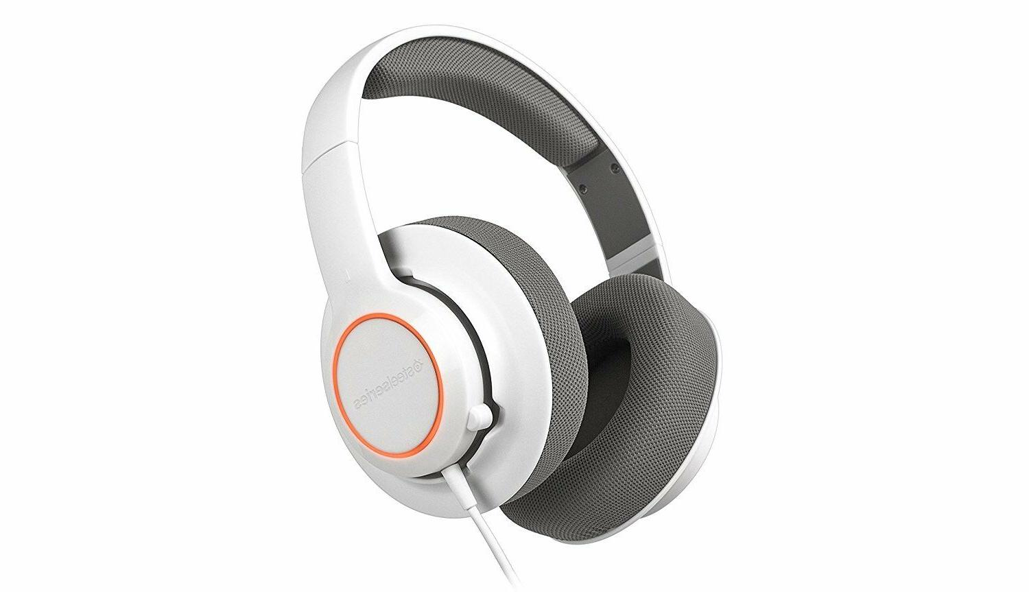 SteelSeries White Windows PC Headset New
