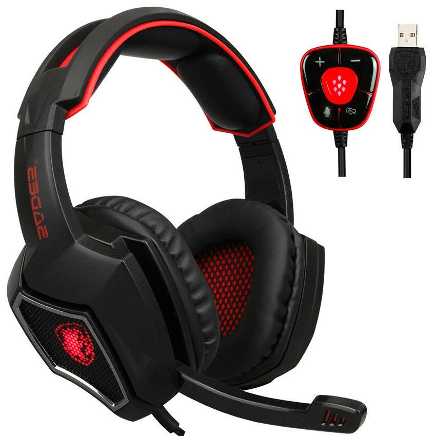 spirit wolf gaming headphones computer usb 7