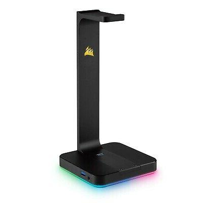 CORSAIR ST100 RGB Premium Headset Stand with 7.1 Surround So