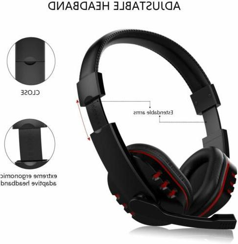 Stereo Headset PS4 Xbox PC