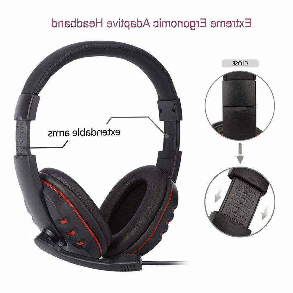 Stereo 3.5mm Headset PS4 Xbox One Switch WF
