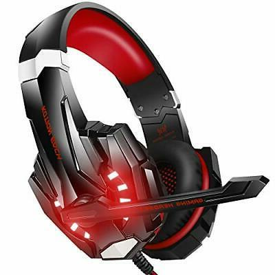 stereo gaming headset for ps4 pc xbox