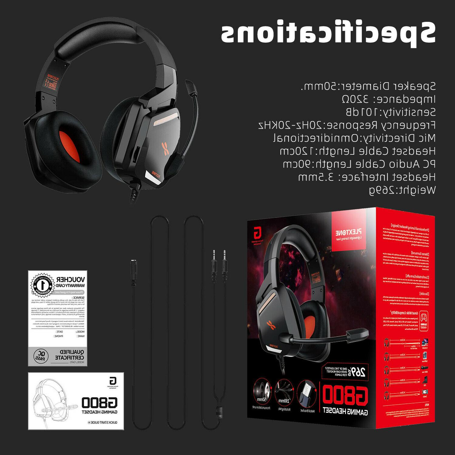 Stereo Gaming Noise Cancelling With For Xbox