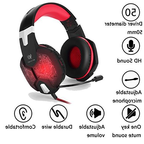 Gaming for PC PS4 one Surround Key Sound USB Reduction