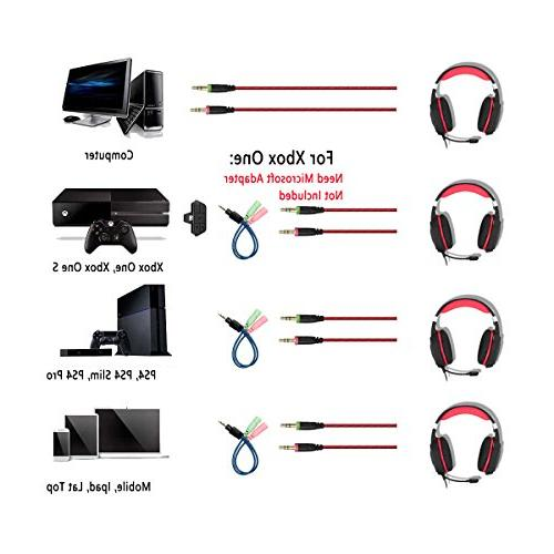 for PC Mac PS4 Surround Stereo Key Mute USB Reduction