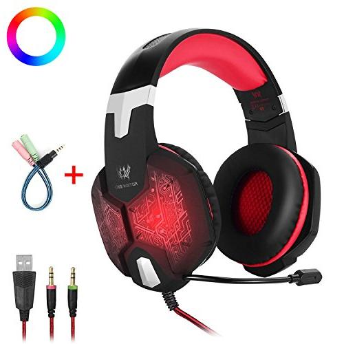surround stereo sound gaming headset