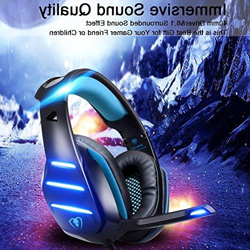 BlueFire 3.5mm Gaming Headset Headphone Volume Control and Mic for New Xbox one/Xbox One s/Xbox