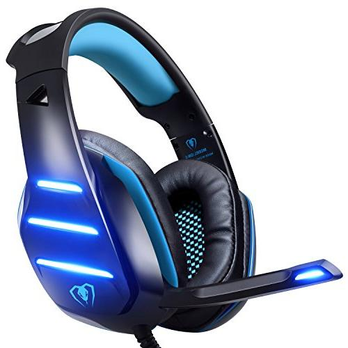 upgraded gaming headset headphone light