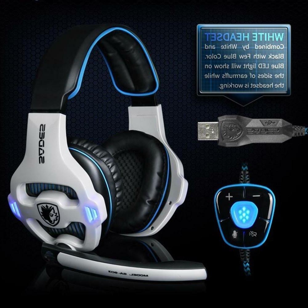 usb gaming headset professional 7 1 channel