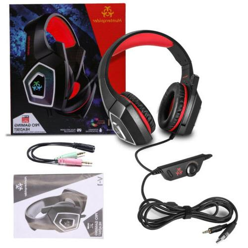 V1 Stereo Surround Headphone Wired For PS4 PC Xbox One