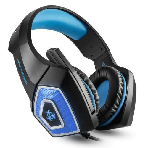 Hunterspider V1 Stereo Bass Game Gaming Headset