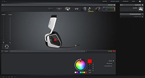 CORSAIR PRO RGB Dolby 7.1 Sound Headphones for - Discord - Drivers Carbon