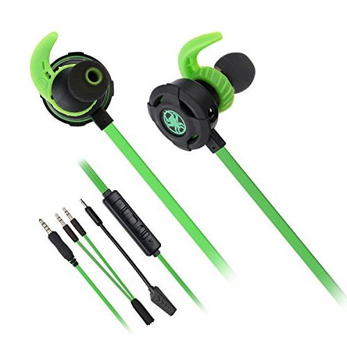 Gaming Noise Cancelling Stereo Bass E-Sport Mic for One, Laptop, Cellphone, PC