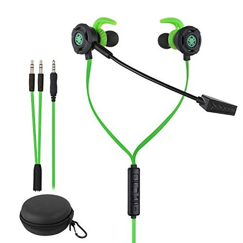 wired gaming earphone noise cancelling