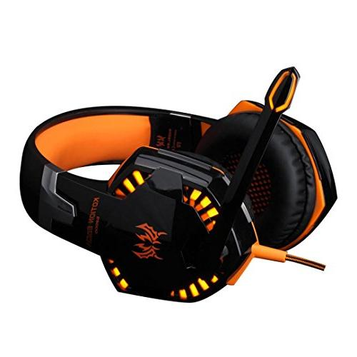 wired gaming headset headphones