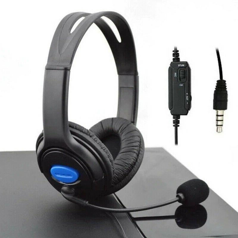 Wired Stereo Gaming Headset PS4 New Xbox with